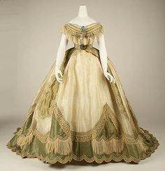 Robe transformação la, ca 1865 France