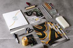 Oakland A's Pitch Book by TunnelBravo, via Behance
