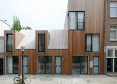 Wooden Houses In Amsterdam By M3H Architecten | Architect Lover