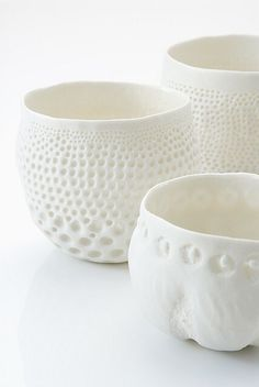 white.quenalbertini: Organic bowls | Franswazz