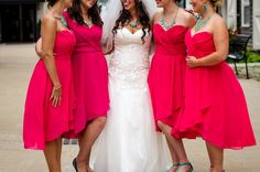 Wedding Photography – Carbray #pink #bridesmaids #wedding #fortnelson