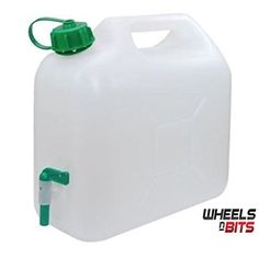 10L 15L 20L Litre Plastic Garden Camping Caravan Water Carrier Fluid Jerry  Can Container   Tap perfectly Safe for drinking water. Made in the EU (15  Litre ... ecebb74bb7972