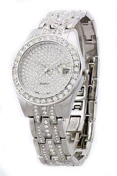 7ctw Ecclissi Ruby Watch Wedding Stainless Steel Watch