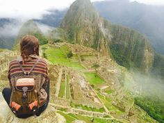 Machu Picchu II Vieux Sommet Ancienne cité Inca du XVe