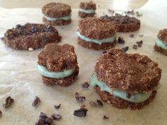 Mint Chocolate Chip Oreos~