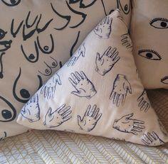 Maker & Mineral | handsy pillow