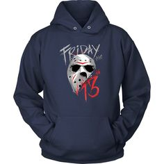 Friday 13th Classic Horror Hoodie