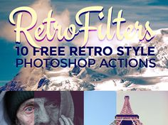50 free Photoshop actions