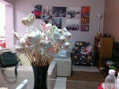 Enfeite unitário para decoração de mesas R$ 10,00