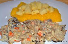 #Porcini stew                                                      Tocană de #hribi