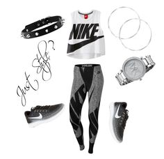 """The Nike way"" by courtney1248 on Polyvore featuring NIKE and Michael Kors"