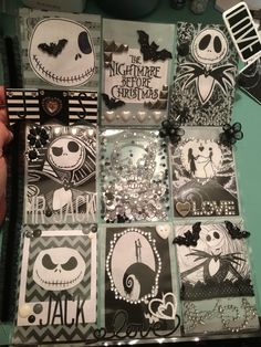 Nightmare Before Christmas Pocket Letter