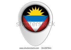 Pointers, Royalty Free Stock Photos, Flag, Country, Illustration, Pictures, Art, Antigua, Photos