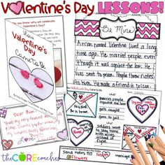 Looking for educational Valentine's Day activities? Look no more! These ELA lessons on the legendary history of Valentine's day are sure to be a crowd-pleaser!