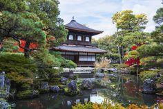 Ginkaku-ji-Temple Japán Kiotó 15. század