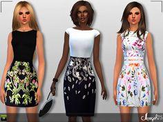 Sims  Addictions: S4 Jovani Dress Set