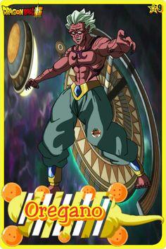 Oregano- Team Universe 9. Dragon ball super