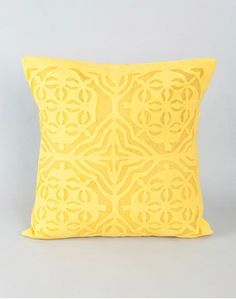 Organdy Applique Cushion Cover Bed Covers, Cushion Covers, Applique Cushions, Bed Linen Online, Home Gifts, Linen Bedding, Bed Sheets, Interior Decorating, Throw Pillows