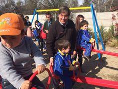 Juegos y máquinas de ejercicio infantiles inaugura el Jardín Infantil La Granjita