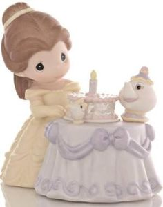 Disney Precious Moments Figurine - Be My Guest For Our Birthday Best