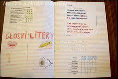 Notebook, Bullet Journal, Education, Polish, School, Speech Language Therapy, Therapy, Vitreous Enamel, Onderwijs