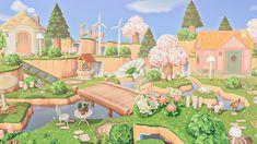 Animal Crossing Memes, Animal Crossing Villagers, Pink Animals, Cute Animals, Fairy Garden Images, Pink Island, Island Theme, Motifs Animal, Island Design