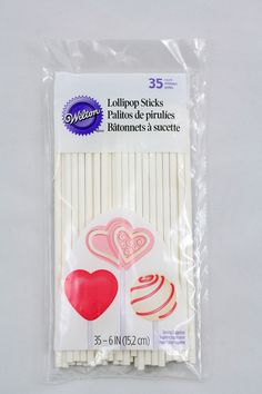 Wilton Cakepop Stiele 35 Stück