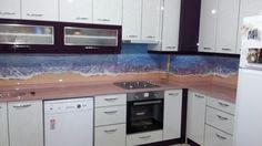 Mutfak tezgah üzeri çalışmamız Afyon 3D dekorasyon