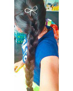 Indian Long Hair Braid, Braids For Long Hair, Long Silky Hair, Beautiful Long Hair, Layered Hair, Beauty Queens, Cool Photos, Long Hair Styles, Long Hairstyle