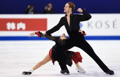 Chock & Bates of US- first after dance short at Worlds