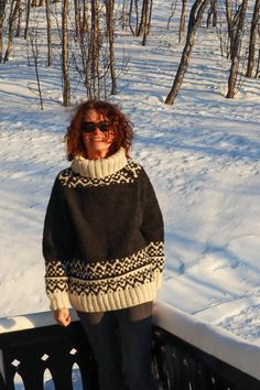 Excited to share this item from my #etsy shop: LEIRVASS sweater pattern for knitters - English and Norwegian   #knitting #knittingpattern #handknit #norwegian #nordic #pattern