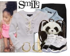 """""""YOUNG SWAG :D"""" by hellokittyswag14 ❤ liked on Polyvore"""