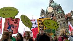 Warnstreik im öffentlichen Dienst legt Hannover lahm