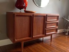 Vintage Eames Era Danish Mid Century CHISWELL  sideboard