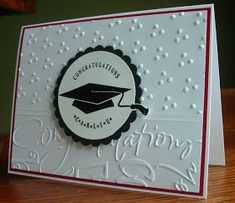 My Stamping Addiction: Graduation Card #2