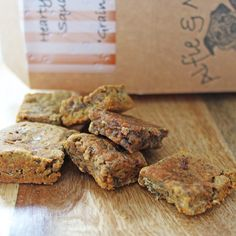 Alfie & Molly's Hearty Beef Squares. Hypoallergenic,  Wheat, Gluten and Grain Free treats for dogs. Made in the UK.