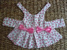 Cute dress!  Probably wouldn't make one for Clair, unless it's for a halloween costume.