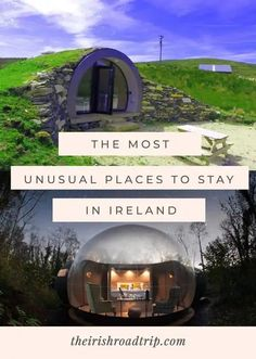 Unique Places to Stay in Ireland 2019 | 23 Unusual & Quirky Rentals Places To Stay In Ireland, Places To Visit, Unique Hotels, Best Hotels, Ocean Photography, Photography Tips, Holiday Places, Visit France, Exotic Places