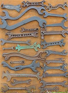 collection of antique wrenches                              …                                                                                                                                                                                 More