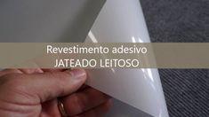 Adesivo Jateado Leitoso para vidros