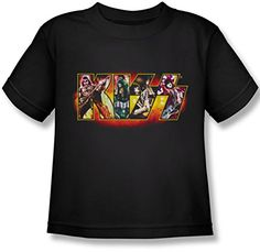 Kiss - Juvy Etapa Logo T-Shirt, Small (4), Black #camiseta #friki #moda #regalo