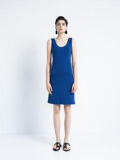 IOANNA KOURBELA DRESS VITAL 20218-12875 High Neck Dress, Dresses, Women, Fashion, Turtleneck Dress, Vestidos, Moda, Fashion Styles, Dress