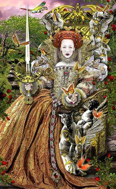 Queen of Swords-Tarot Illuminati
