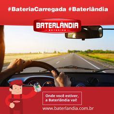 A Baterlândia deseja uma ótima semana! #BateriaCarregada #Baterlândia
