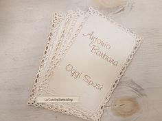 Card per tableau de mariage