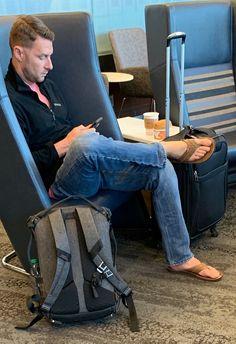 First class meal 😋 Mode Masculine, Adidas Slides Outfit, Mens Beach Shoes, Bare Men, Foot Pics, Barefoot Men, Mens Flip Flops, Male Feet, Mode Outfits