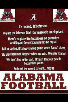 This is Alabama Football…Shopaholic in Alabama football Pinning this f… RTR! This is Alabama Football…Shopaholic in Alabama football Pinning this for my Alabama fan friends! Roll Tide Alabama, Alabama Crimson Tide, Alabama Baby, Crimson Tide Football, Bama Fever, College Football Teams, Sports Teams, Alabama Football Funny, Sports Ohio
