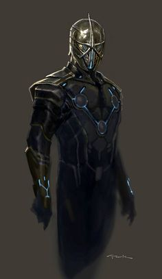 Nova Corps Concept Art for Guardians of the Galaxy