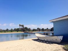Colorado Lagoon, in Long Beach, CA.