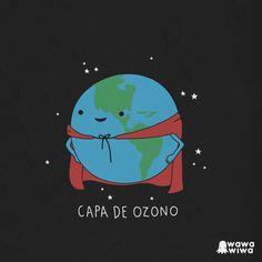 Capa de ozono by Wawawiwa design, via Flickr #learning #spanish #kids